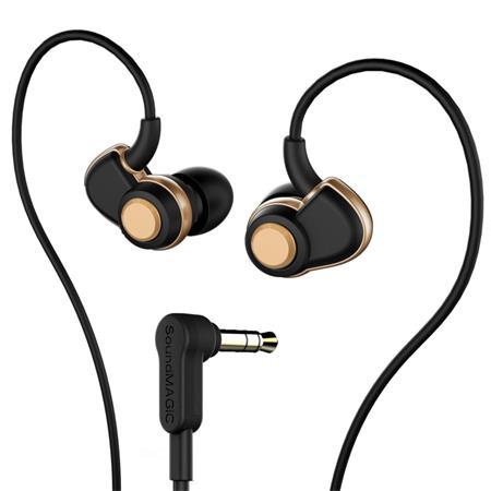 """Fülhallgató, SOUNDMAGIC """"PL30+"""", fekete-arany"""
