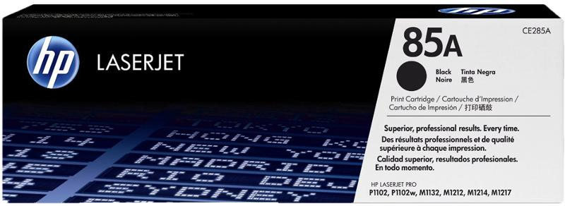 Hp CE285A Laserjet P1102 fekete toner, 1,6K (min.2 darab) 811569
